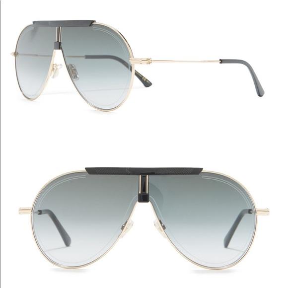 Jimmy Choo | Silver Mirror Eddy Sunglasses | New